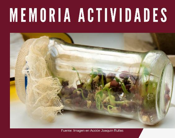 tarro semillas memoria actividades