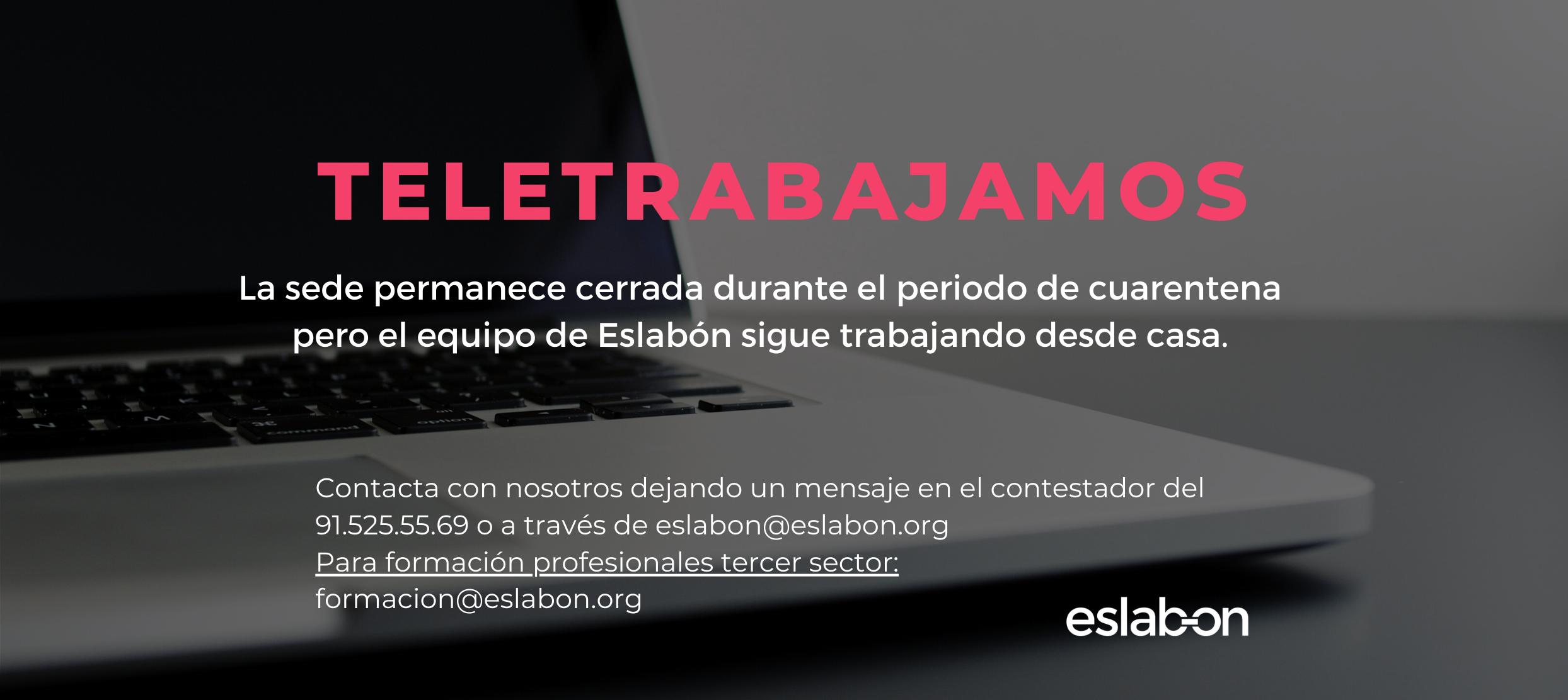 Banners web teletrabajamos Eslabón